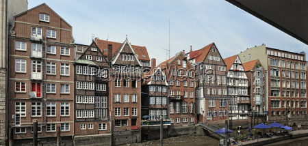 old town in hamburg germany