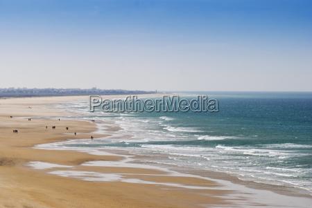 strand an der costa de la