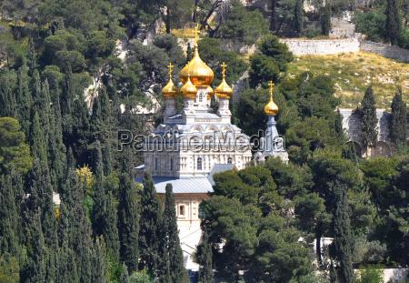 mary magdalene russian church