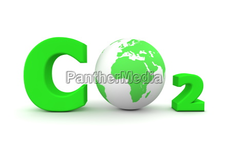global carbon dioxide co2 gruen