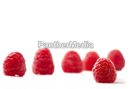 a raspberry before five