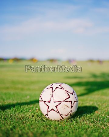 football in the field