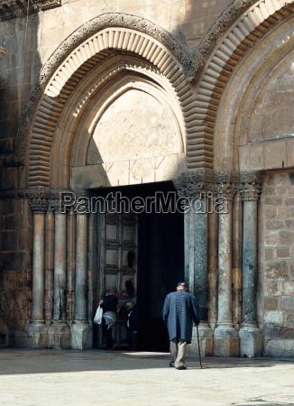 prayer church of the holy sepulcher