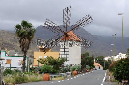 windmill on gran canaria