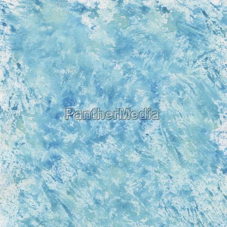 blau aquarell spritzer