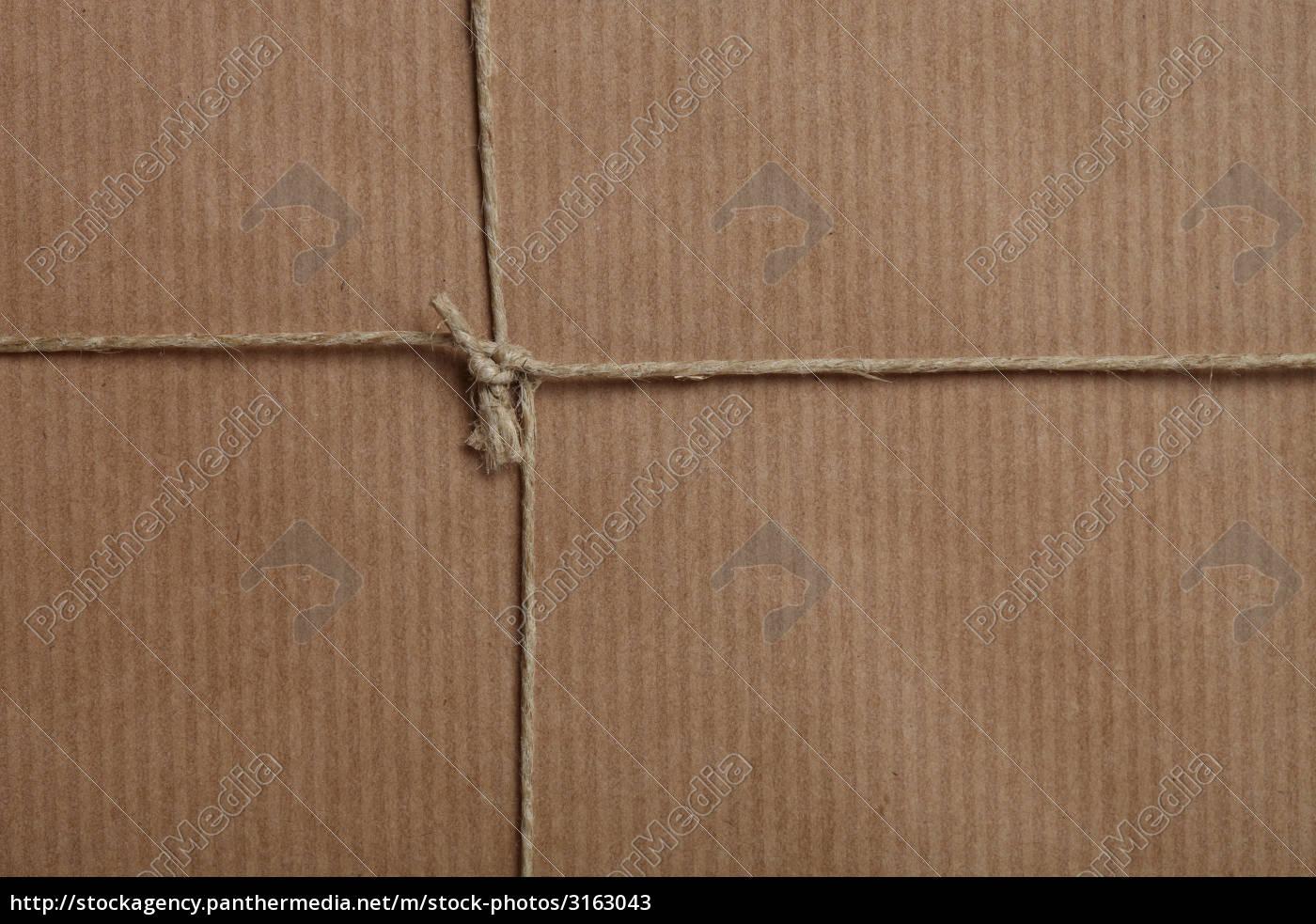Geschenkpapier braun
