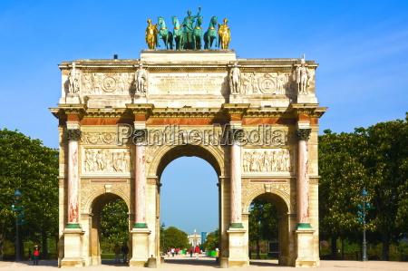 denkmal monument gewoelbe paris frankreich woelbung