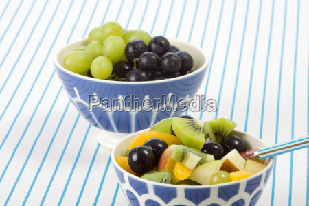 two fruit cups