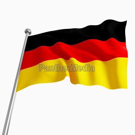deutsche flagge 3d