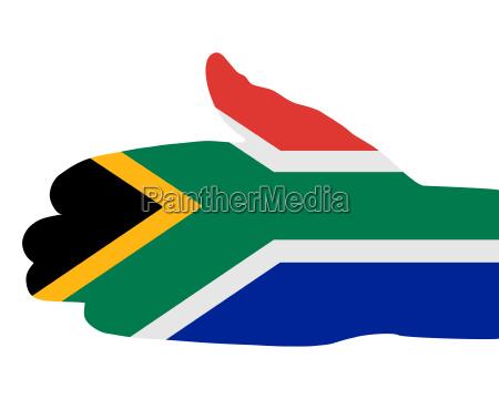 suedafrikanischer handschlag