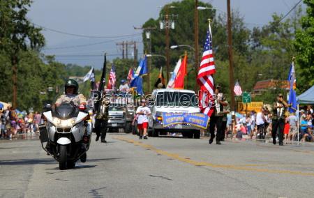 ojai 4 parade juli 2010
