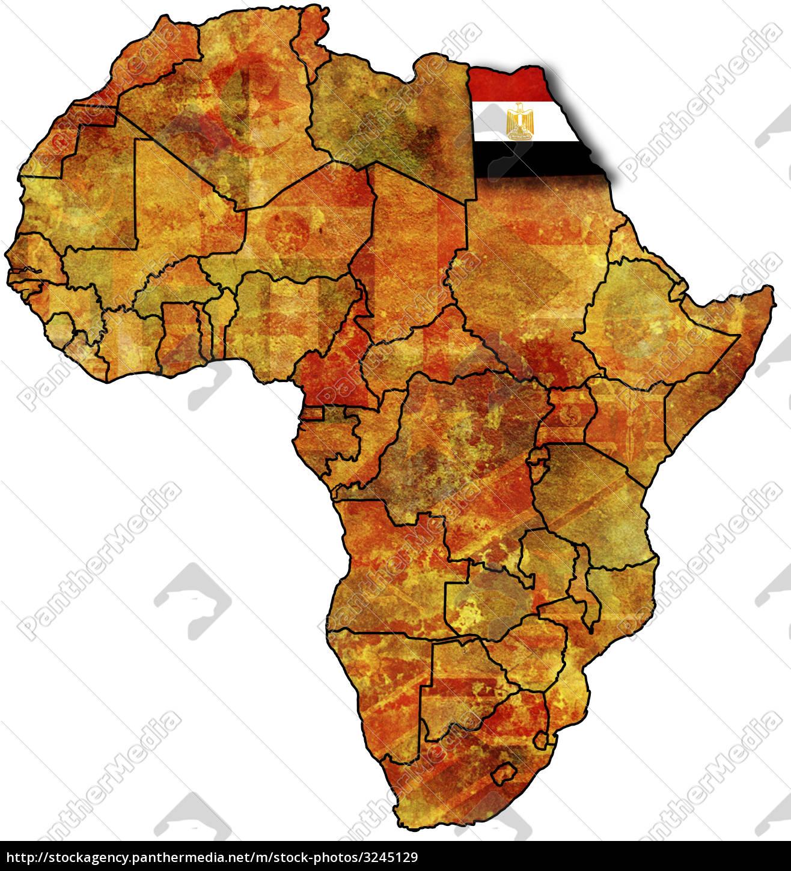 Karte Von ägypten.Lizenzfreies Bild 3245129 ägypten Auf Afrika Karte