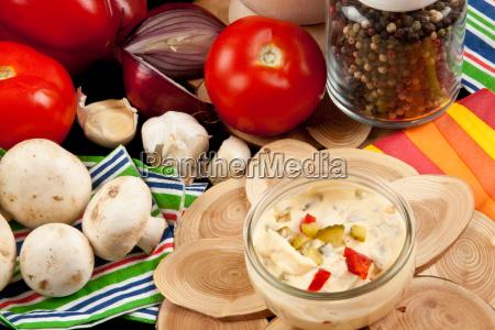 essen nahrungsmittel lebensmittel nahrung sosse dressing