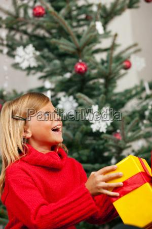 christmas family child children mutt