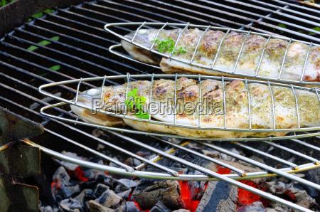 grillen forelle grilling trout 09