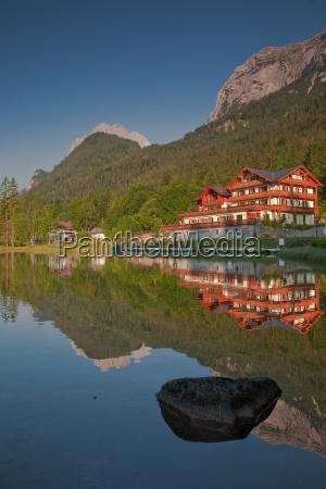 reflection at the hintersee
