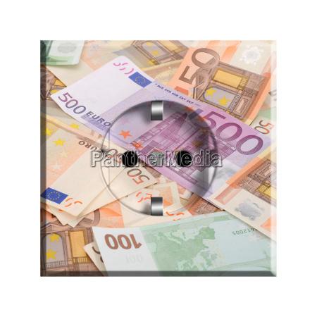 steckdose geldscheine