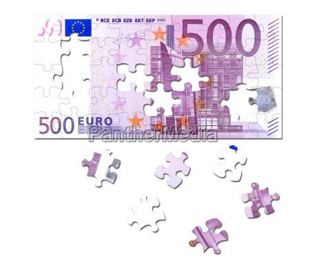 puzzle 500 euro