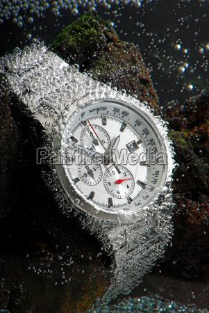 wasserdichte chronograph underwather