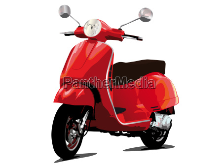 motore ciclomotore motorino classico scooter retro