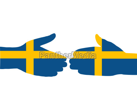 schwedischer handschlag
