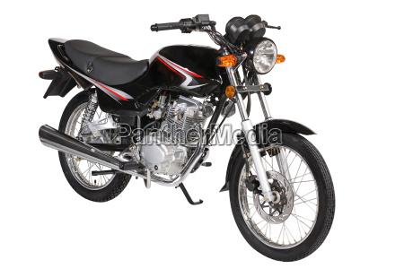 schwarz motorrad