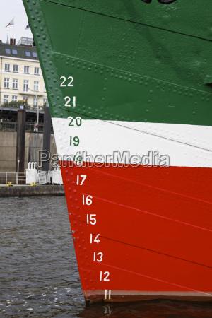 museum sailboat in hamburg rickmer