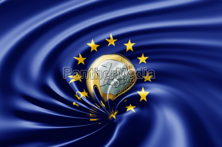 euro im abwaertsstrudel