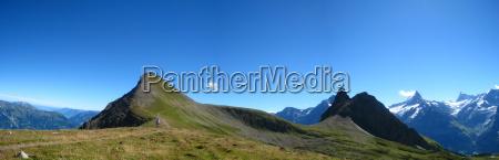 alpine panorama faulhorn