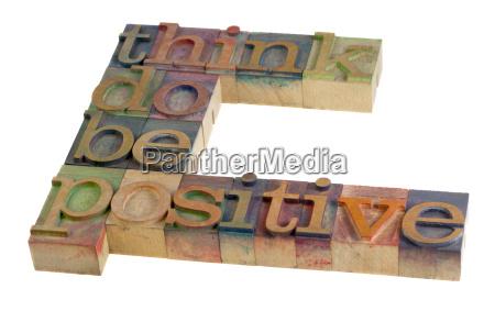 optimistisch denken entschlossenheit positiv photo foto