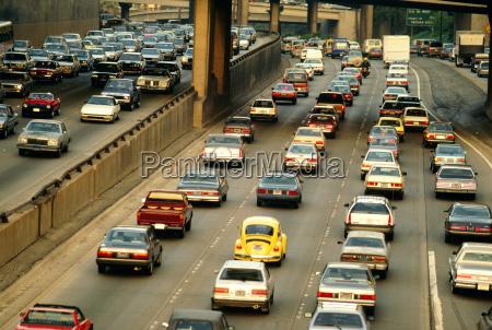 traffic on highways