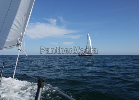 meeting on the baltic sea