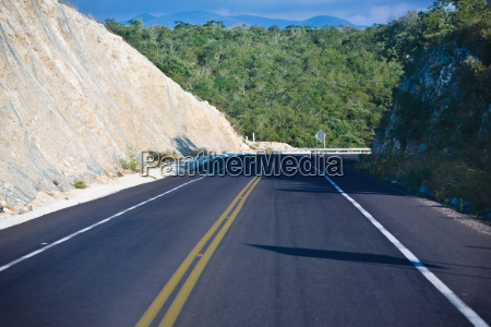 road passing through mountains san luis