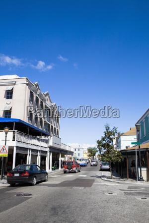 buildings at the roadside bay street
