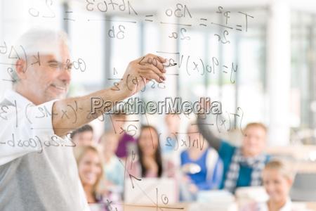 math lektion an der high school