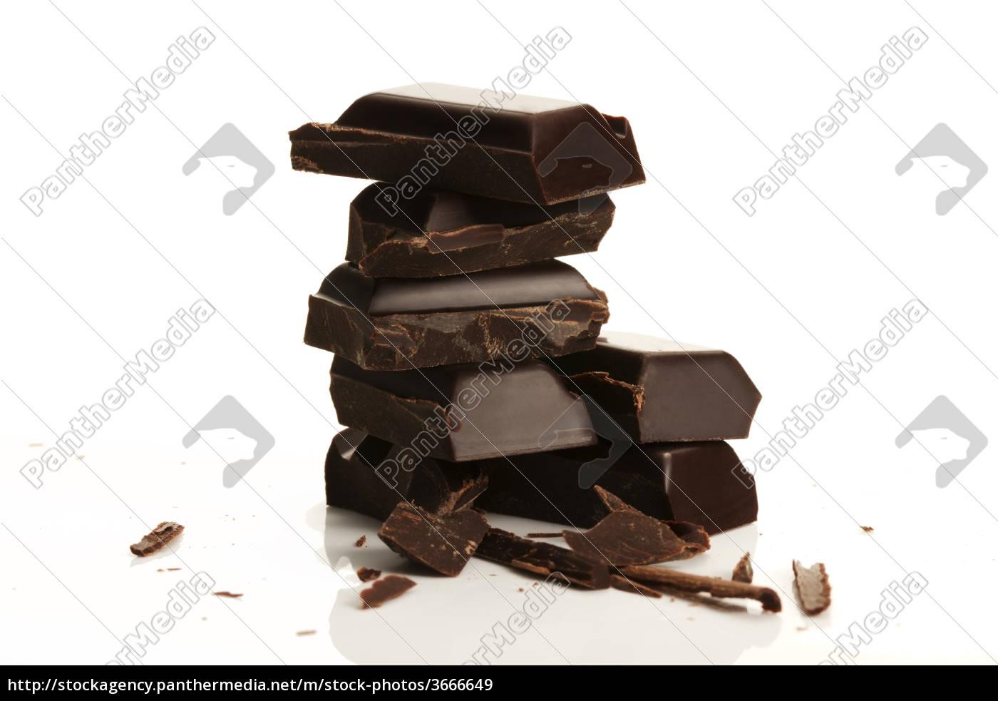 ein, stapel, schokolade - 3666649