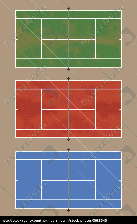 tennisplätze - 3688545