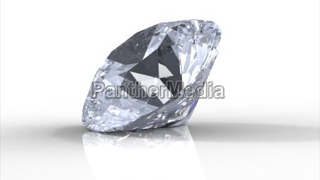 diamant mit schatten