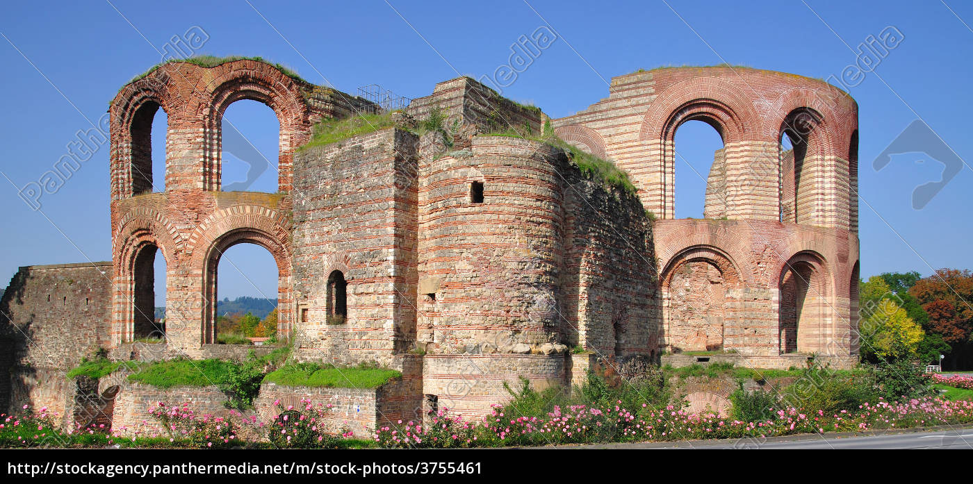 kaiserthermen, in, trier - 3755461