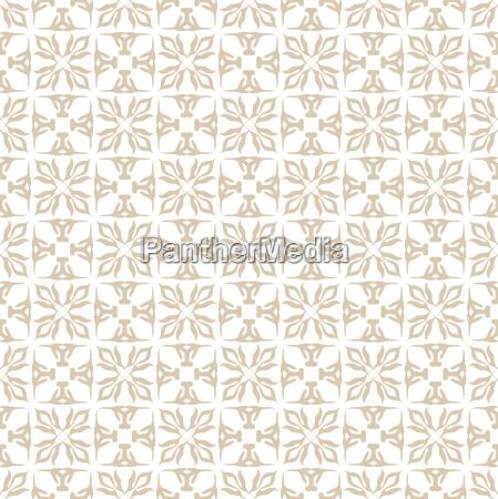 floral beige seamless