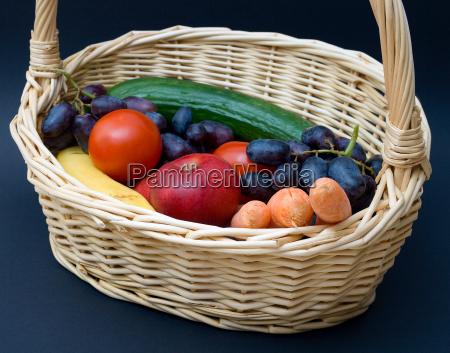 essen nahrungsmittel lebensmittel nahrung korb frucht
