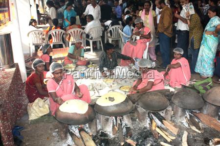 carnival food preparation