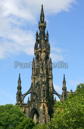 the scott monument