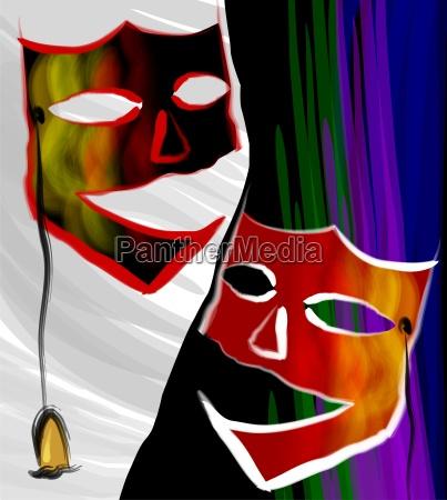 aufregung um die maske