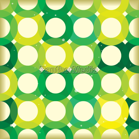 circle link green background