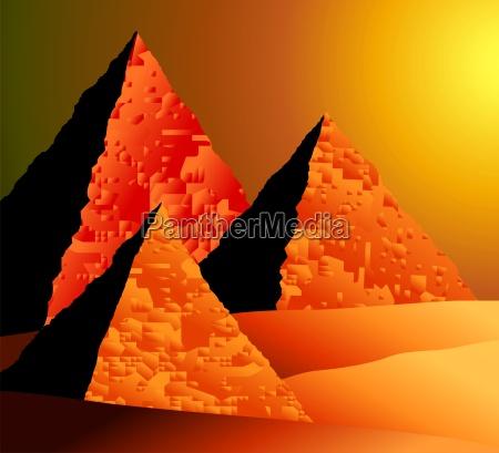 sonnenuntergang abendrot abstraktes abstrakte abstrakt sonnenstand