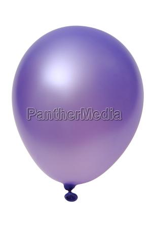 violetter ballon