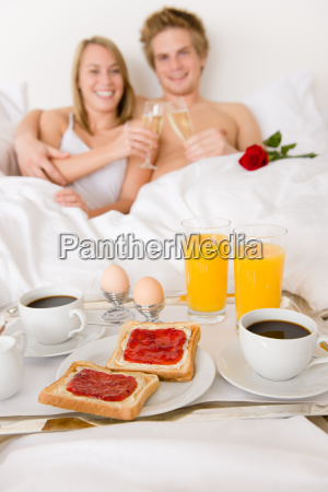 luxury hotel honeymoon breakfast couple