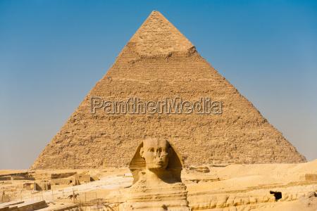 beromt sphinx pyramider centreret skelsaettende egyptiske
