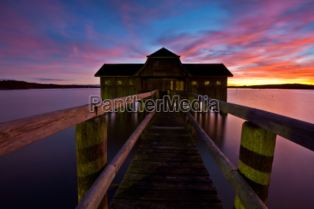 ammersee blue hour